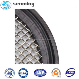 Food grade Sanitay tri clamp PTFE/FKM screen gasket 1.5