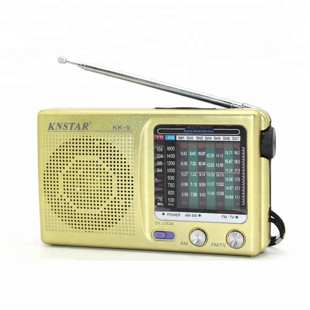 FM AM SW KNSTAR mini rádio