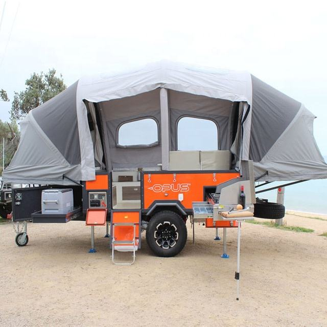 Outdoor Waterproof Canvas Folding winter Tent Inflatable Camper Trailer tent house tent No trailer included