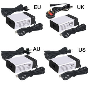 PSU PD Charger Travel Adapter Dinding Qc3.0 Cepat 12 V 2A Converter Ethernet untuk 45 W USB Tipe C cepat PD Charger