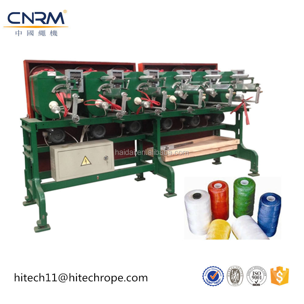 thread polyester texture yarn 150d/148f pineapple type yarn winding machine of 350gram