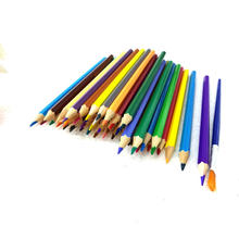 High Quality Colored Pencils Set for Adult Kids Coloring Books Watercolor Pencils With Brush Pen
