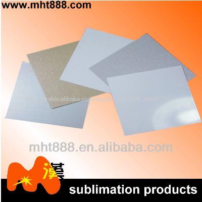 التسامي الفراغات 0.7mm رقائق الألومنيوم المصقول الفضي، pearlized( الذهب، الفضة، أبيض)، أبيض صفائح معدنية التسامي
