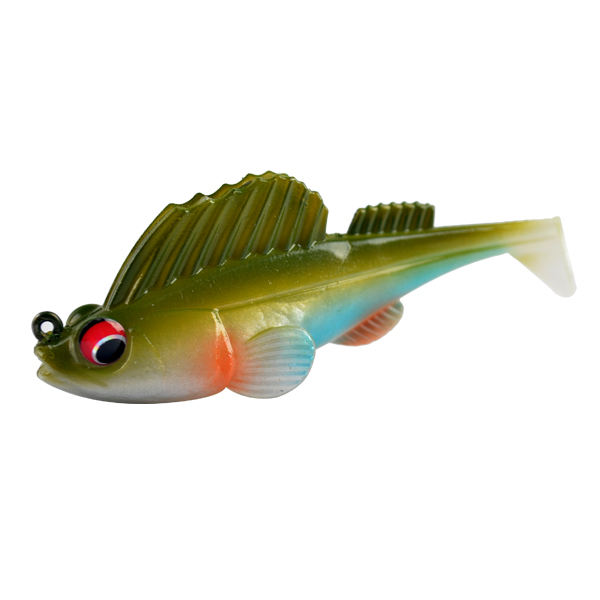 Low MOQ Bass Fishing Soft Bait Fishing Lure Lead Jig Head Fish 75mm 13g swim bait