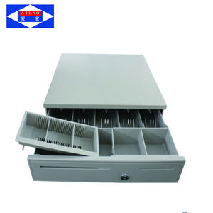 pos cash box/cash register drawer/metal cash drawer cabinet