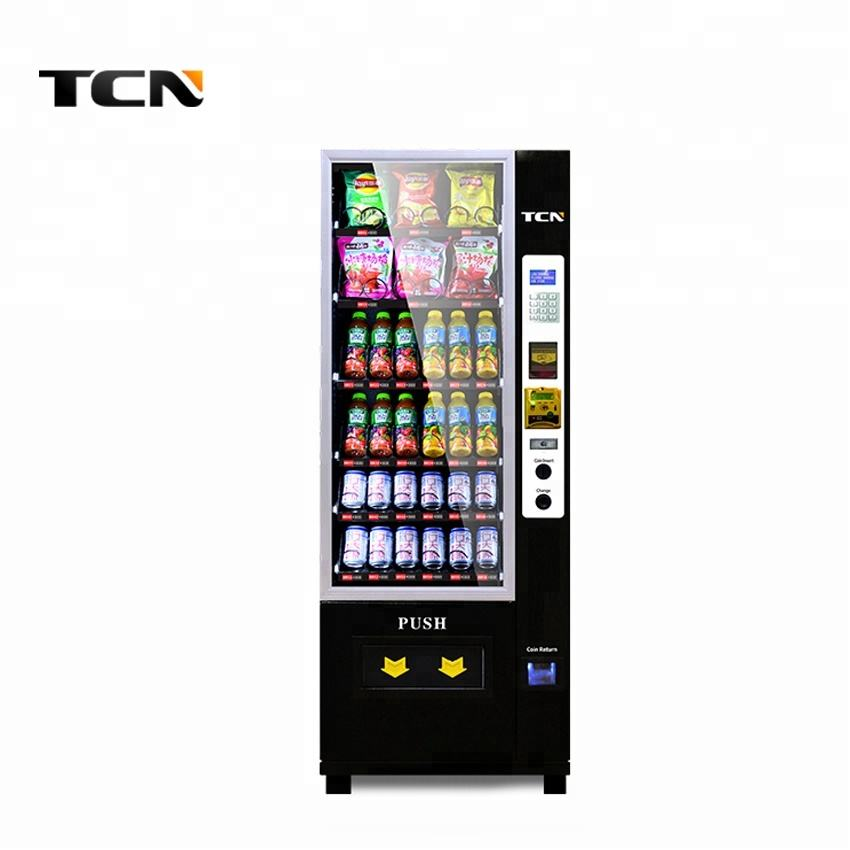 TCN mini automatic self-service 24 hours Vending Machine with card reader function