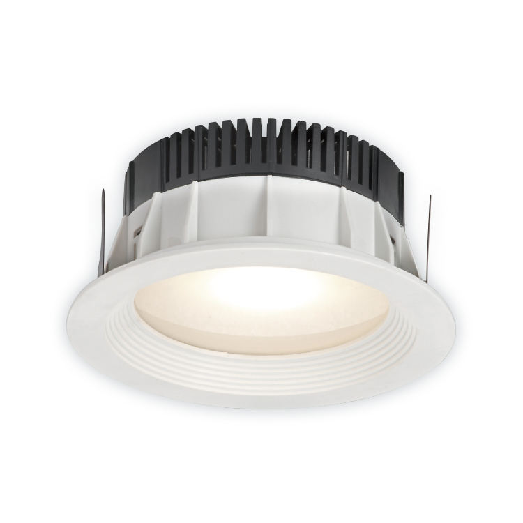 IP20 7 inch aluminum pc cover branded COB 13w recessed spot ceiling LED downlight