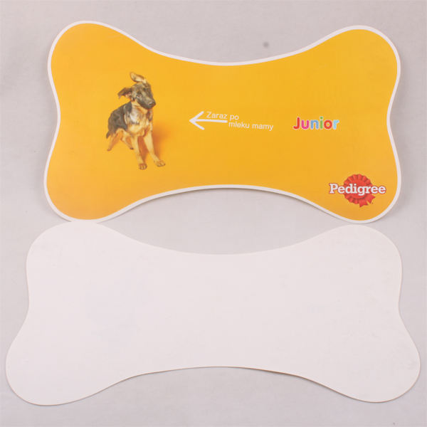 animal printed plastic placemat for pet
