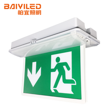 Red Or Green Led Office Vintage Emergency Light For Hotel exit sign