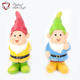 China superior materials cute garden decoration resin gnome