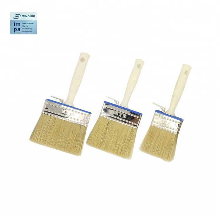 Professional Flat Paint Brushes with Wood Handle for Painting Use IMPA CODE 510101 SHIP STORE
