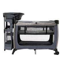 Adjustable folding baby travel bed royal playard portable 3 in 1 cot on sale
