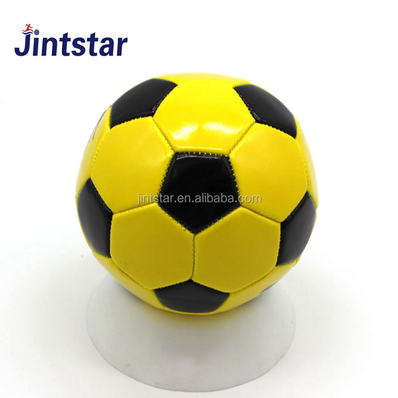 Wholesale mini size 1 pvc leather football soccer ball with customer logo