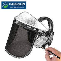 PARKSON SAFETY TAIWAN Customize Face Shield Industrial Protection Wide Coverage