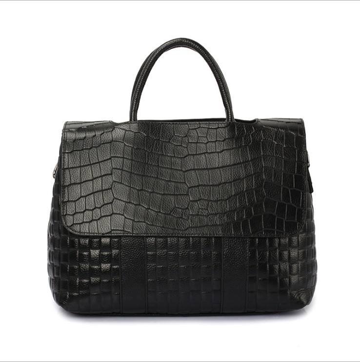 2019 new design stone pattern ladies tote hand bags luxury genuine leather handbag for women