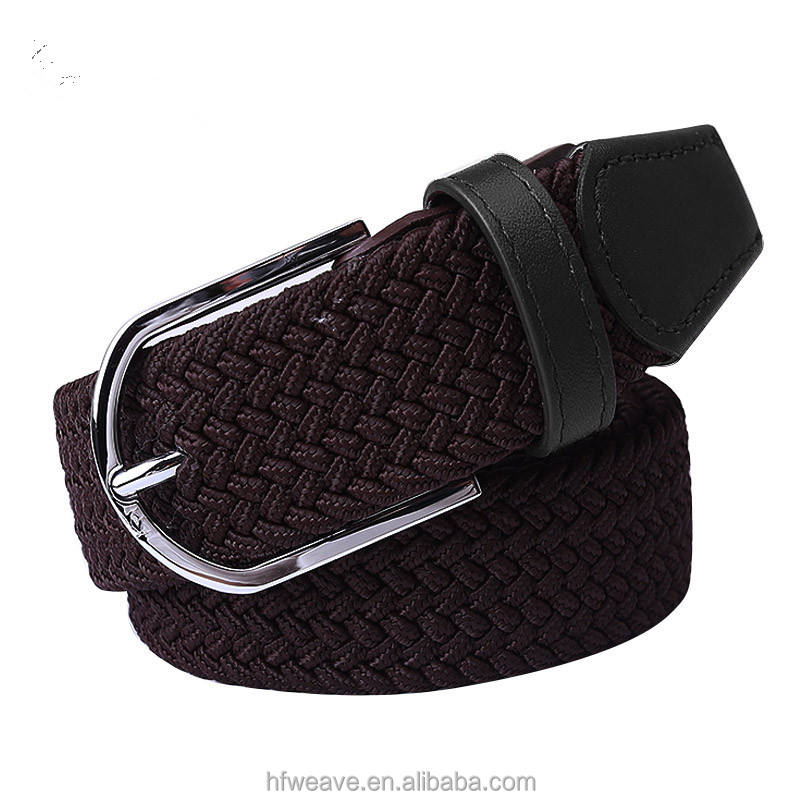 Wholesale Manufacturers Best Seller Premium Quality Nice Design Promotions Gifts Durable Men's Elastic Braided Belts