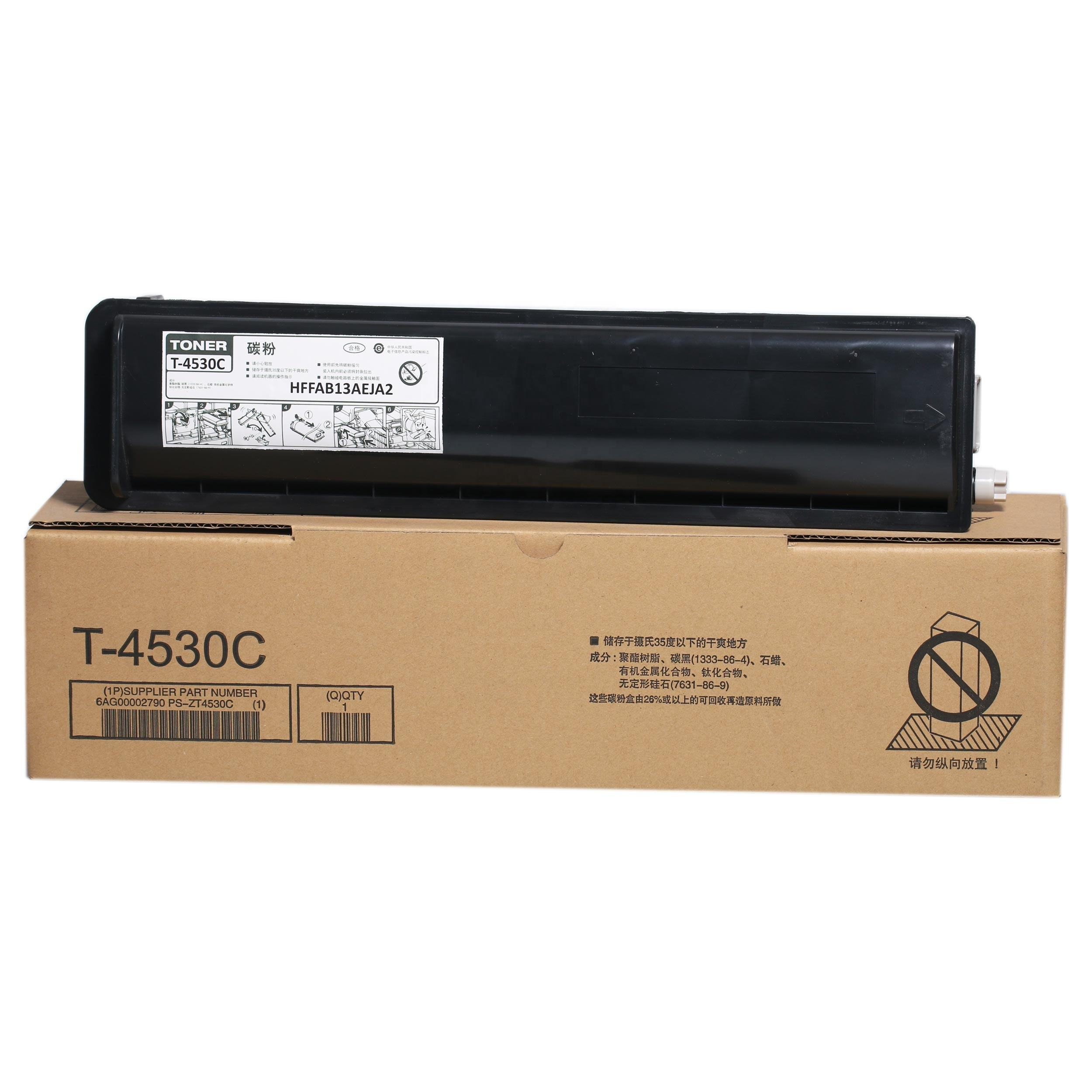 Compatible copier toner T-4530 for use in Toshibas E-STUDIO 255/305/355/455