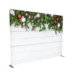Stretch custom printing tension fabric portable photo booth backdrop 8x8 10x8
