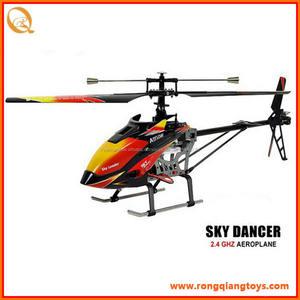 Bán Hot 2.4 Gam big size độc blade RC máy bay trực thăng đồ chơi RC6140913