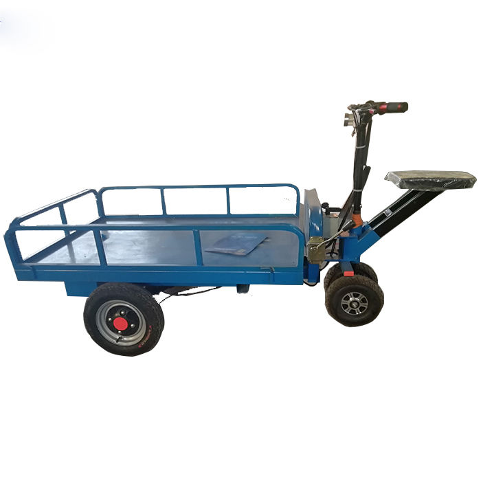 Industrial building electric trolley cart hot sale