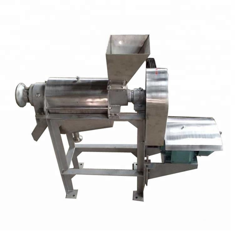 free shipping by sea SS304 Apple screw juice extractor machine apple juice extractor