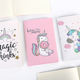 Hot-selling unicorn notebook stationery items A5 soft cover recycled paper notebook