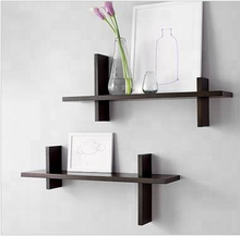 Mini MDF set 2 wooden wall shelf