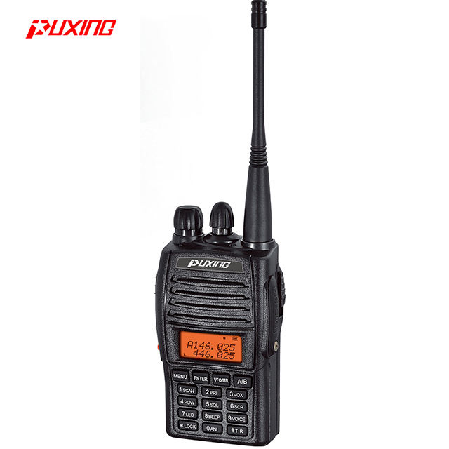 PX-UV973 ham radio ricetrasmittente full duplex dual band walkie talkie allenatore di calcio two way radio