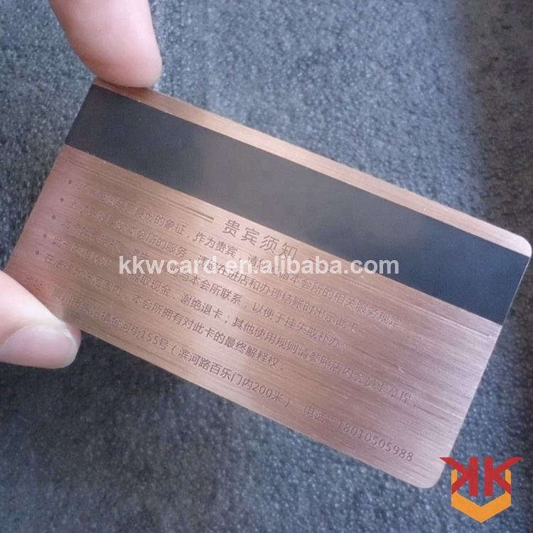 복고풍 membership metal card (high) 저 (quality luxury laser 컷 metal business card