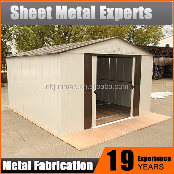 2016 low cost industrial shed designs modern design garden shed PVC,small china prefab houses