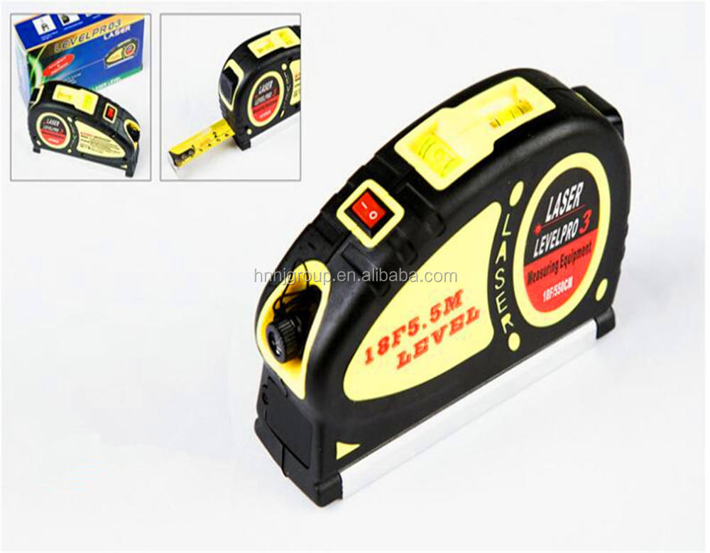Factory Laser level measuring tape