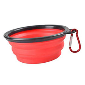 Eco-Friendly Dog Large Collapsible Silicone Bowl