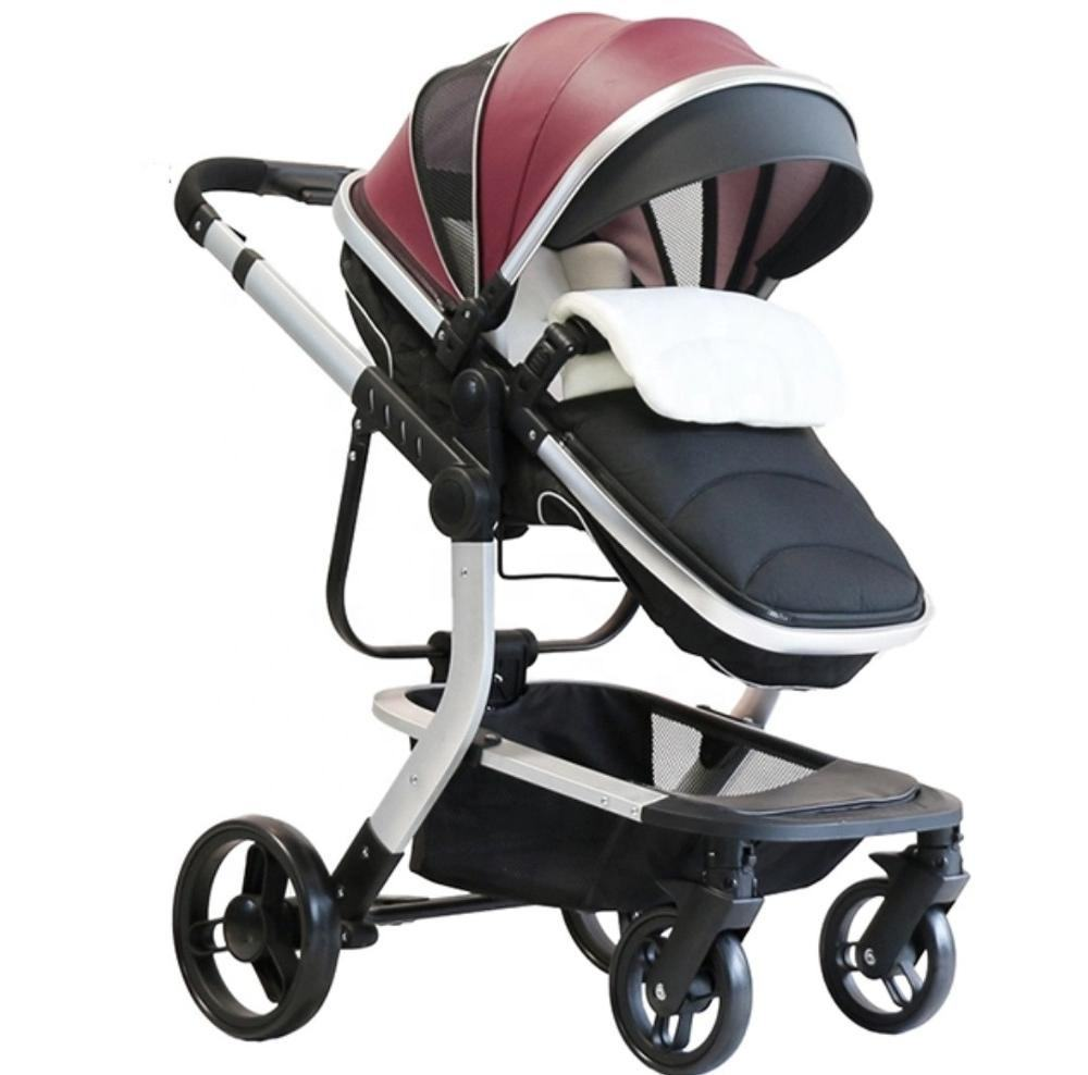 Custom Made Luxe Kinderwagen 3-in-1with Mozes Mand