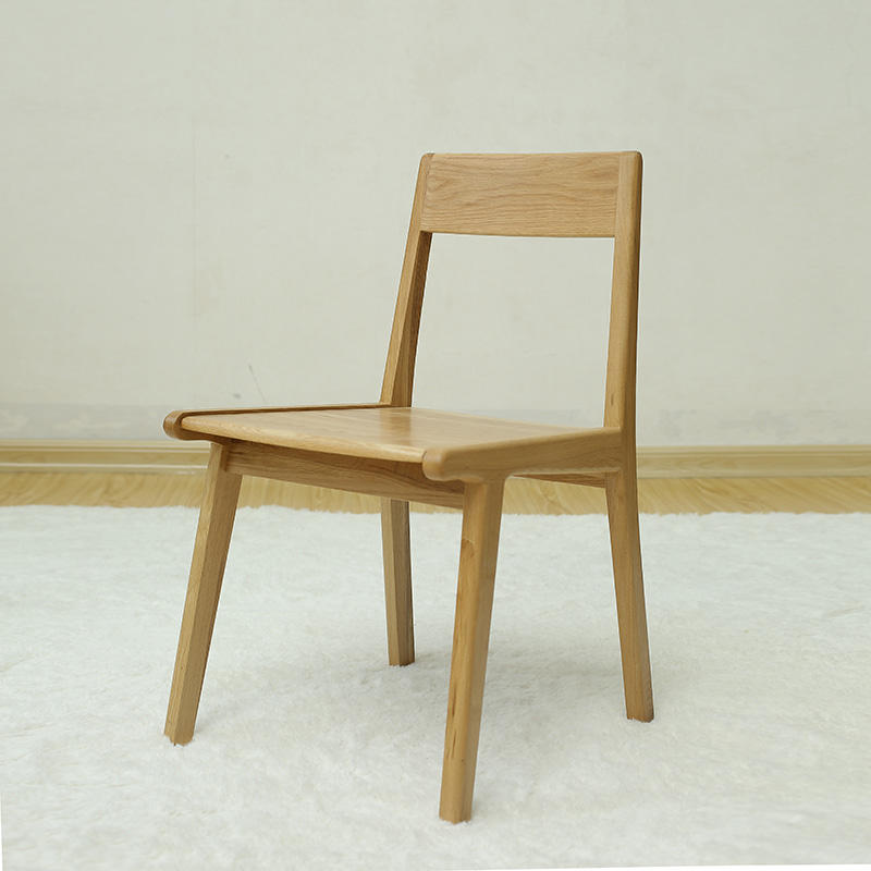 White oak Wood Dinning Chair