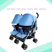 Mother Bike Carrier double seat foldable 2-in-1 baby pram stroller twins for newborn kids