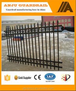 Iso аттестовал порошковое покрытие оцинкованная кружева забор