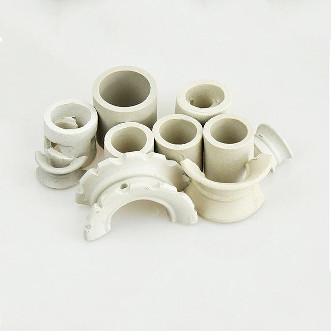 Mejor calidad sillas de montar de cerámica Industrial Torre silla intalox cerámica
