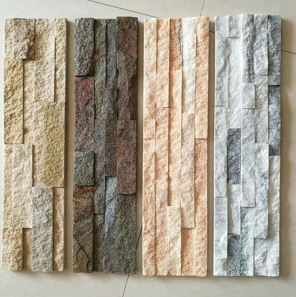 Natural quartzite thin wall stack culture stone