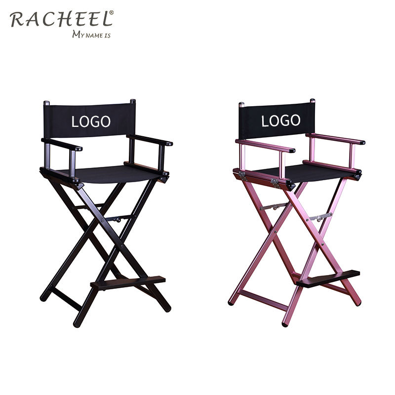 Accept OEM Service Portable Custom Folding Chair Makeup Chair Tall Director Chair