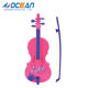 Battery operated foreign musical instrument kids pink toy violin for hot selling