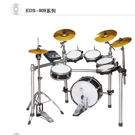 high grade EDS-909-8ST660 Electric Drum kit