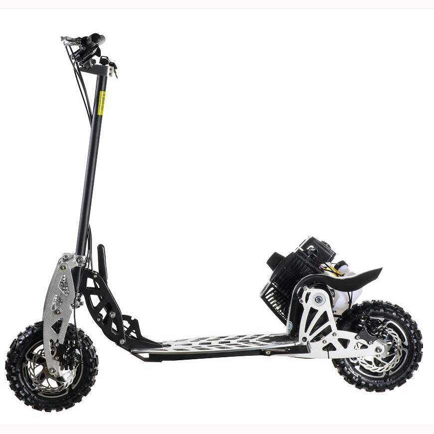 Uberscoot 2 stroke best quality reasonable price adult 125cc gas scooter