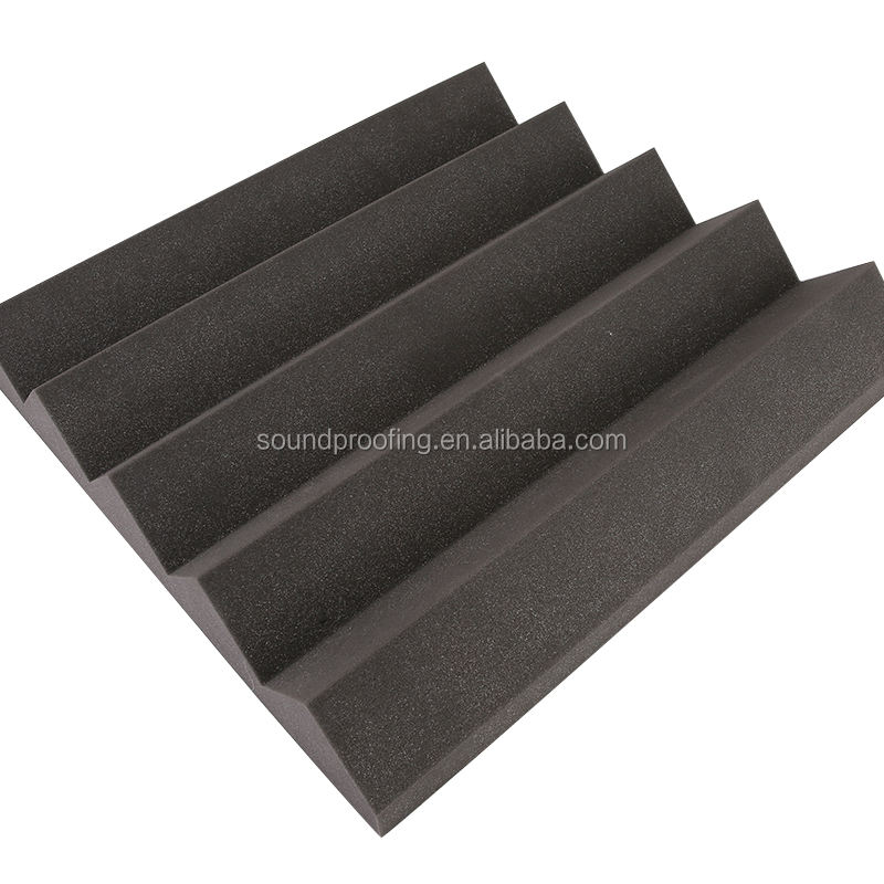 Fire proof and shock absorption studio sound absorbing Triangle sponge/acoustical wall foam