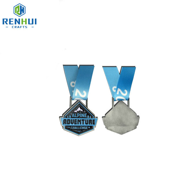 Cheap Factory Custom Gold Silver High Quality Finisher Free Sample Antique Gold Silver Sport Award Medal