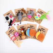 Japanese Multicolor Style Animal Shaped Natural Catnip Cat Toy