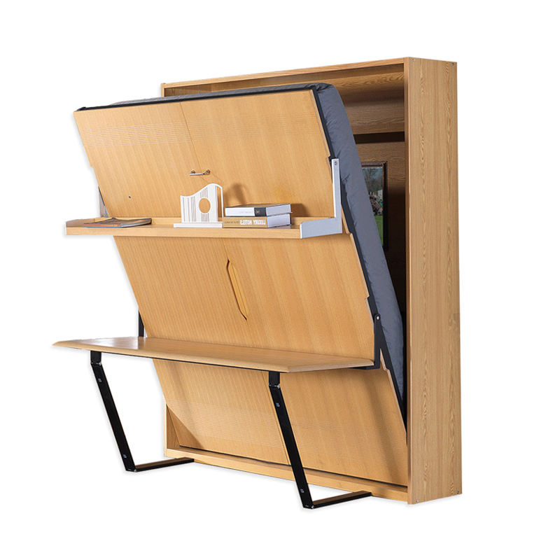 Modern Multifunction Vertical Folding Hidden Wall Bed Murphy Bed