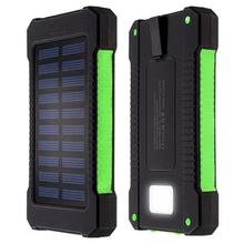 Portable Solar Power Bank 20000mah power bank battery charger