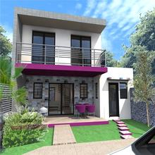 Economic good quality prefabricated houses short construction period and low labor costs fast house