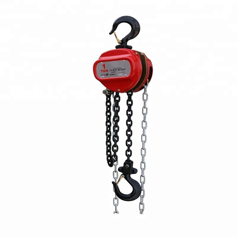 Forged Hook G80 Load Chain CE Chain Hoist Sprocket Manual Pulling Hoist Block Chain
