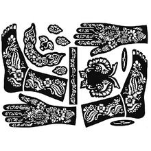 Wholesales black color Arm Tattoo Sticker